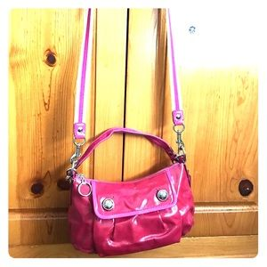 Coach 2 way bag in Patent leather